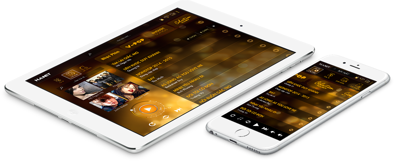 điều khiển hanet karaoke bằng tablet