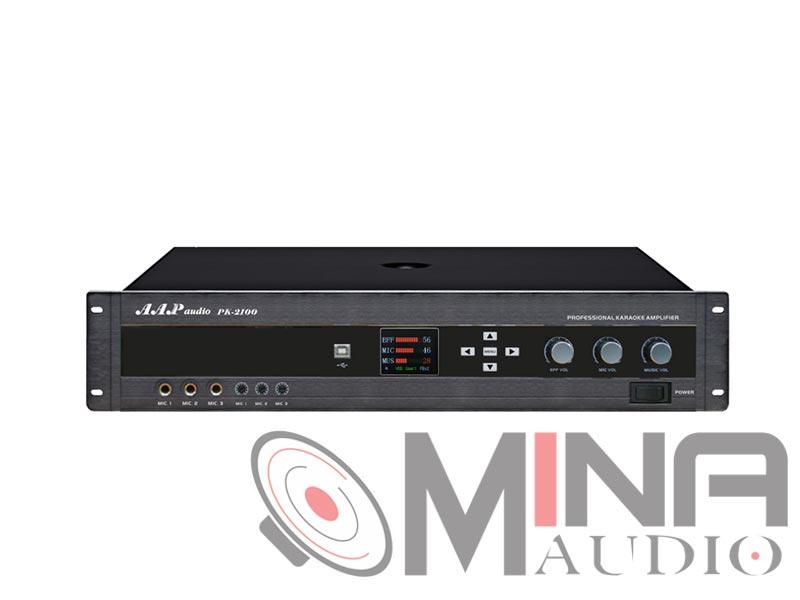 Amply karaoke AAP PK-2100
