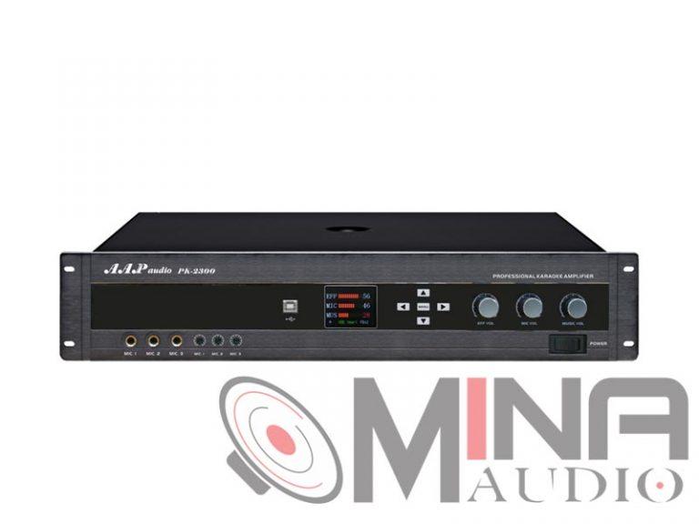 Amply karaoke AAP PK-2300