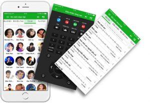 App VietKTV trên mobile
