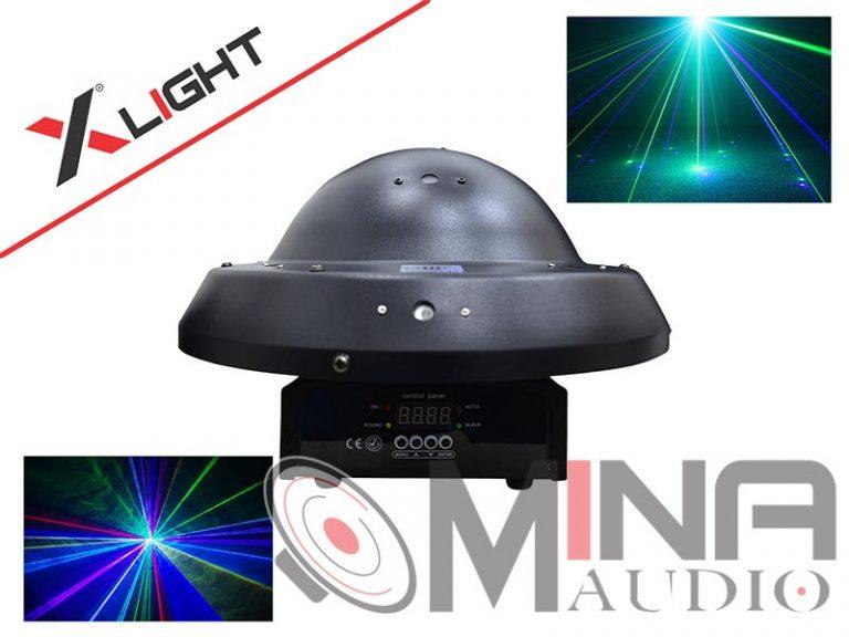 Đèn laser dĩa bay XLight XL-C12O