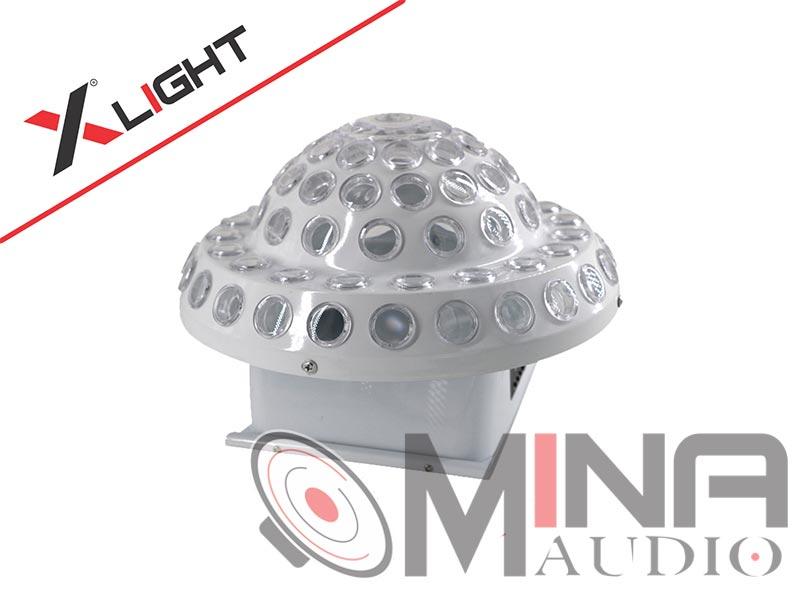 Đèn Led dĩa bay có laser XLight XL-LM3WL