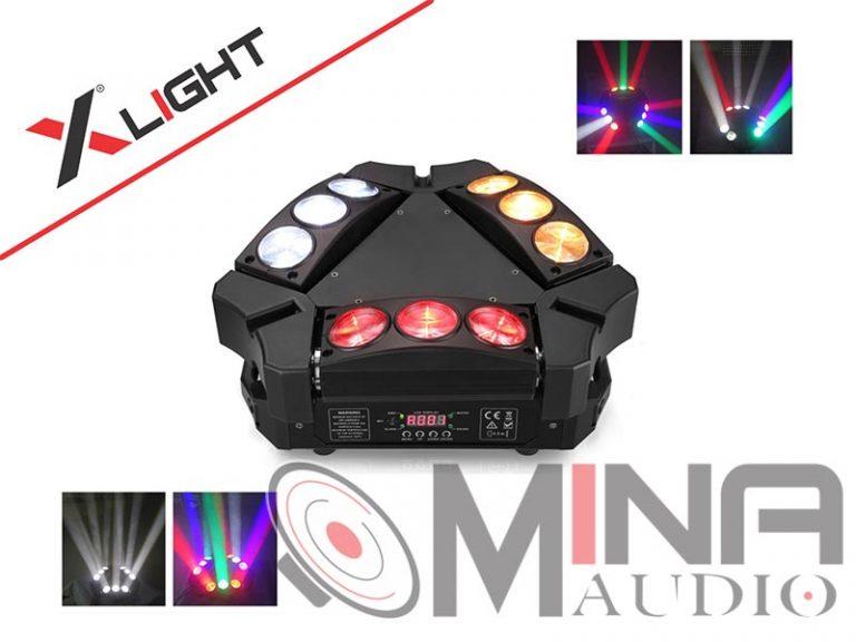 Đèn led karaoke Moving Head 9 XLight XL-MH9SP