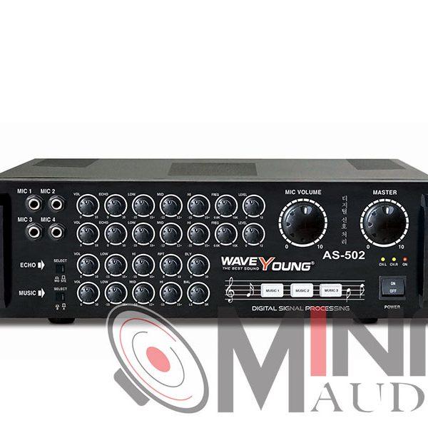 Amply karaoke Wave Young AS-502