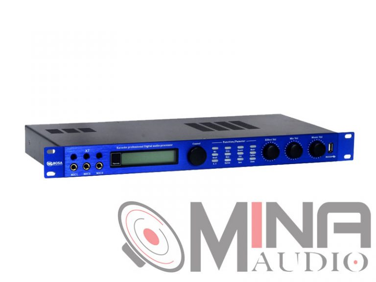 Mixer digital – Vang số BOSA X7