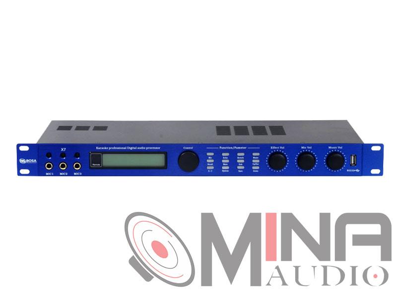 Mixer digital - Vang số BOSA X7