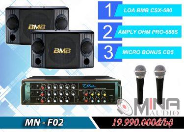 Dàn karaoke gia đình MN-F01