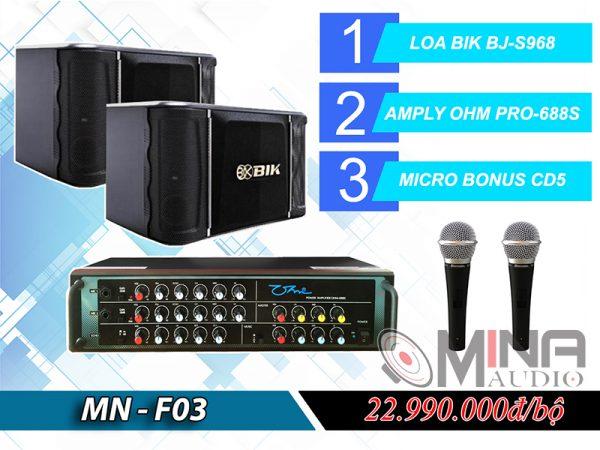 Dàn karaoke gia đình MN-F03