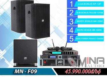 Dàn karaoke gia đình MN-F09 đẳng cấp