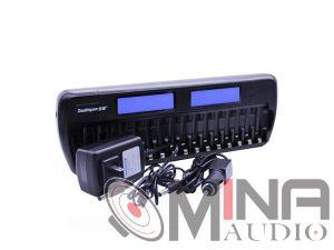 Bộ sạc pin 16 viên thông minh DoublePow DP-K106 tiện dụng.